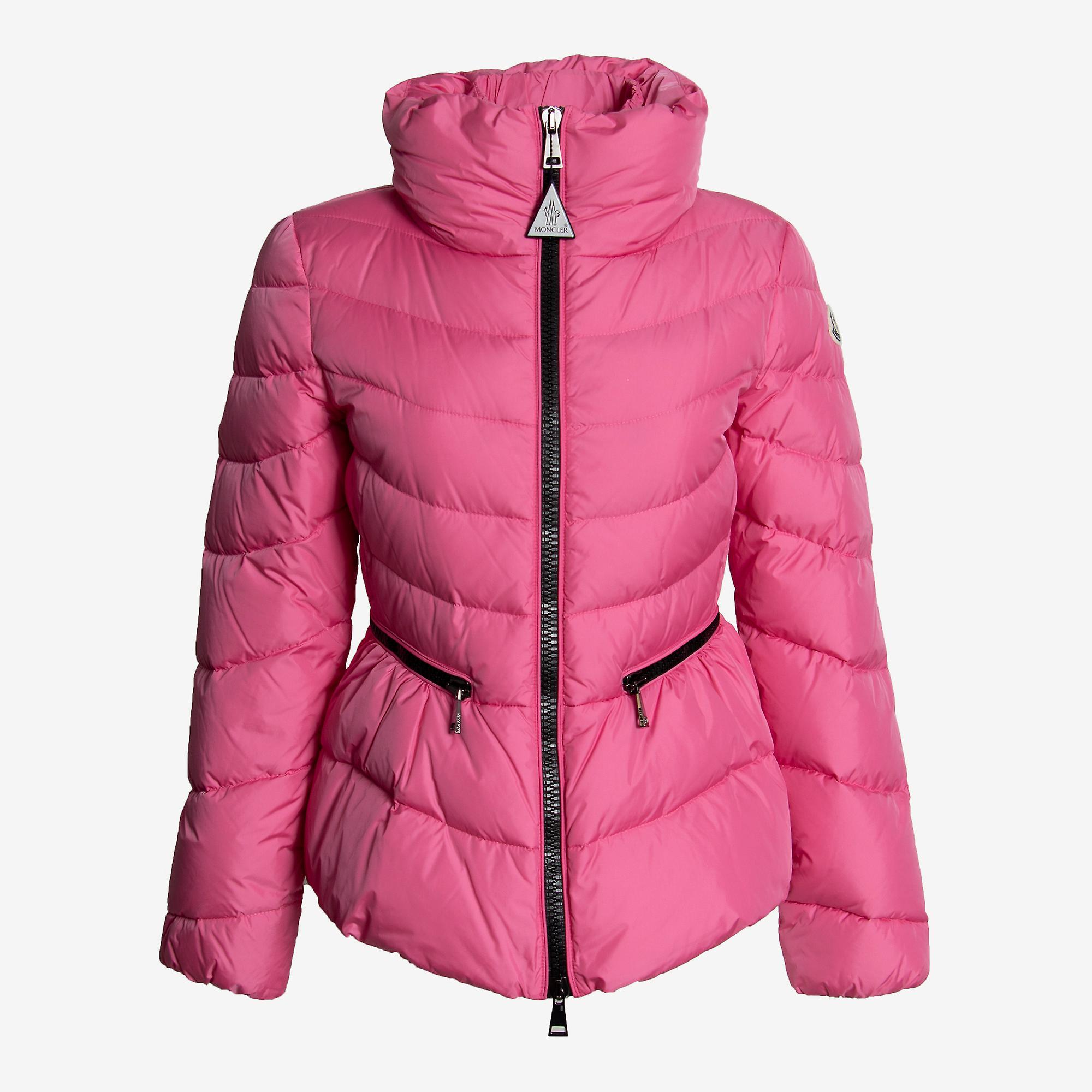 Moncler Miriel semi Fit puffer jakke størrelse 00 i rosa