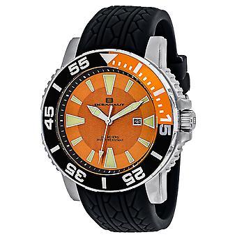 Oceanaut Men-apos;s Orange Dial Watch - OC2915