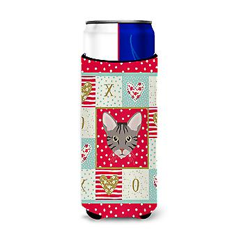 Carolines Treasures  CK5138MUK Ocicat Cat Michelob Ultra Hugger for slim cans