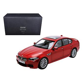 BMW M5 (F10M) Sakhir Orange 1/18 Diecast Model Car by Paragon Models