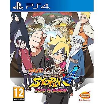Naruto Shippuden ultimate Ninja storm 4-veien til Boruto PS4 spill