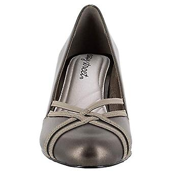 Easy Street Womens Orlene Leather Round Toe Classic Pumps