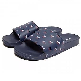 NICCE Nicce Sport Slides Navy Sandals