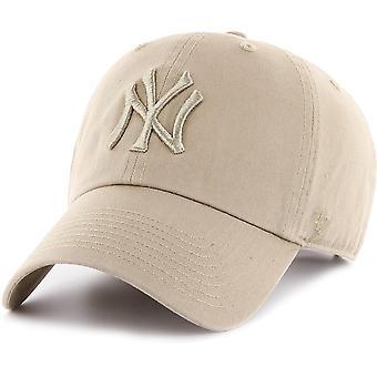 47 fire Adjustable Cap - CLEAN UP New York Yankees khaki