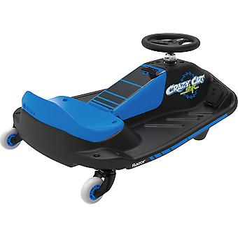 Razor Crazy Cart Shift Electric Go Kart Blue Ages 8 Years+