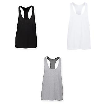 Skinnifit Mens Plain Sleeveless Muscle Vest