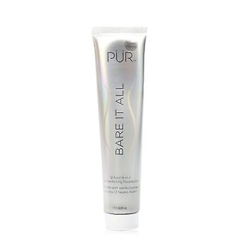 PUR (PurMinerals) Bare It All 12 Hour 4 in 1 Skin Perfecting Foundation - # Golden Medium 45ml/1.5oz