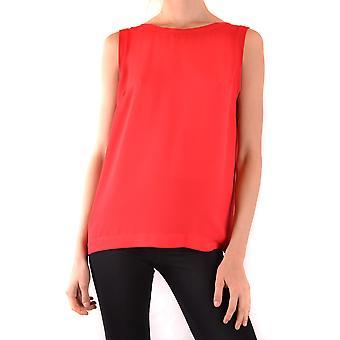 Hanita Ezbc433004 Women's Red Polyester Top
