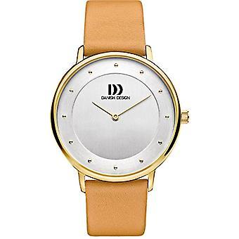 Danish DZ120506 Designs-wristwatches, ladies, leather, color: Beige
