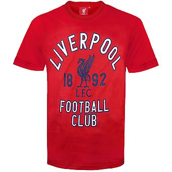 Liverpool FC Official Football Gift Infants Graphic T-Shirt Red