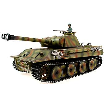 Taigen handgemalt RC Panzer - Metall Upgrade - Panther - 2,4 GHz