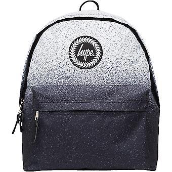Hype Mono Speckle Fade Rucksack Tasche Weiß 52