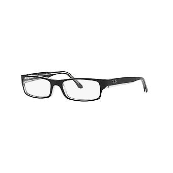 Ray-Ban RB5114 2034 Top Black On Transparent Glasses