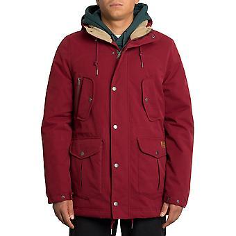 Volcom Starget 5K Parka Jacket in Cabernet