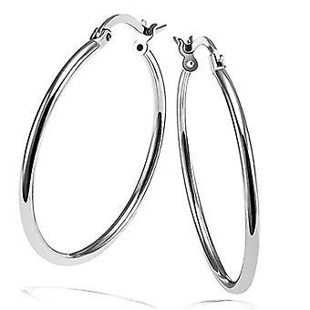 Goldmaid zilveren vrouwen cirkel oorbellen-co O8515S