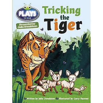 Julia Donaldson Plays Tricking the Tiger (turquoise) (BUG CLUB)