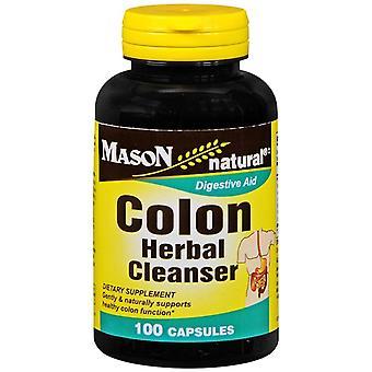 Mason natural colon herbal cleanser, capsules, 100 ea