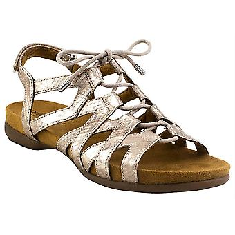 Natural Soul Womens Abrielle Open Toe Casual Slingback Sandals