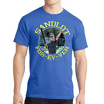 Sandlot Forever Squints Graphic Men's Royal Blue T-shirt