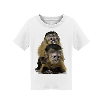 Cute Baby Capuchins  Tee Toddler's -Image by Shutterstock