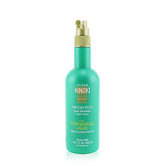 Hinoki plus scalp revitalizer leave in spray (for thinning hair) 300ml/10.1oz