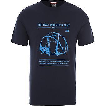 ノースフェイスグラフィックT9493MH2GユニバーサルサマーメンTシャツ
