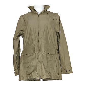 Magellan Women's Convertible Zip Front Jacket Beige