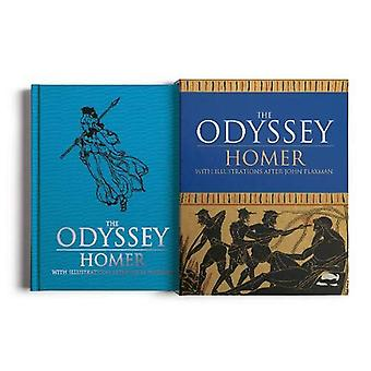 The Odyssey - With illustrations after John Flaxman by Homer - 9781789