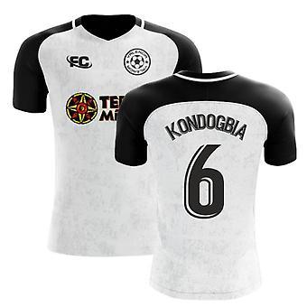 2018-2019 Valencia Fans Kultur Hem Koncept Skjorta (Kondogbia 6)