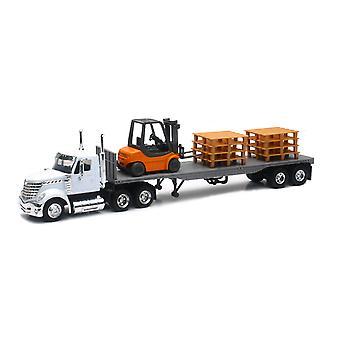 1/43 kansainvälisen Lonestar lava trukki ja kuormalava