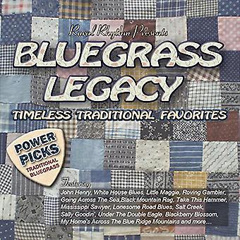 Various Artists - Bluegrass Legacy-Power Picks: Timeless [CD] USA import
