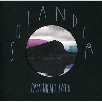 Solander - passagem MT. Satu [CD] EUA importar