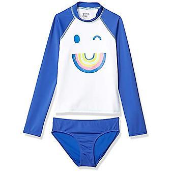 Brand - Spotted Zebra Girls Tankini Rashguard Swimsuit Sets