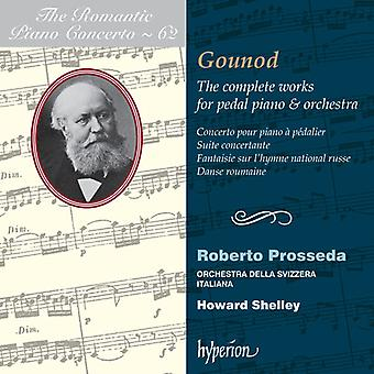 C. Gounod - Romantic Piano Concerto, Vol. 62: Gounod - the Complete Works for Pedal Piano & Orchestra [CD] USA import