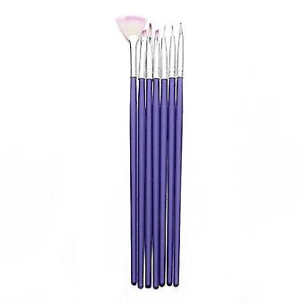 Nail Art Brush Set For Manicure- Gel Nail Acrylic Brushes For Gel Nail Polish