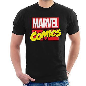Marvel Comics Classic Font Men's T-Shirt