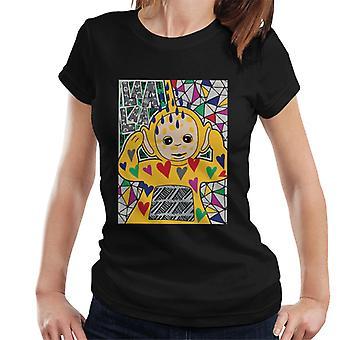 Teletubbies Laa Laa Hearts Women's Camiseta