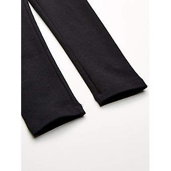 Essentials Girls' Leggings 3-Pack, blazer preto/branco/marinho 2T