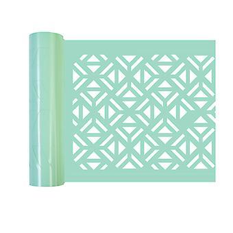 Re-Design with Prima Irregular Triangles Stick & Style Stencil Roll
