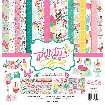 Echo Park Let's Party 12x12 Inch Collection Kit