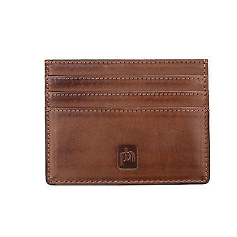 Primehide Mens Slim Leather Card Holder RFID Blocking Wallet Gents 6473