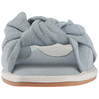 Dolce Vita Womens Halle Fabric Open Toe Casual Slide Sandals