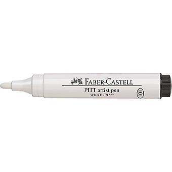 Faber Castell Tekenstift Pitt Artist Pen Big Brush 101 Wit