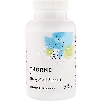 Thorne Research, Soporte de metales pesados, 120 Cápsulas