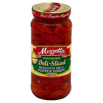 Mezzetta Deli Viipaloitu paahdettu bell pippurinauhat