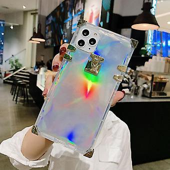 2 في 1 قذيفة ل Phone11 مع الليزر لون النيون