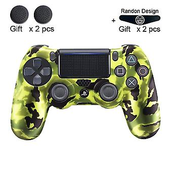 Sony Playstation 4 Ps4 Controller-protecție-caz Soft Silicon Gel Cauciuc-piele-capac Pentru Ps4 Pro Slim Gamepad