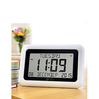 Geemarc Telecom Radio Controlled Day / Date Clock