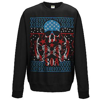 Sons Of Anarchy Christmas Reaper Sweater/ Sweatshirt