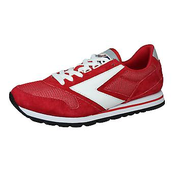 Brooks Chariot Mens Vintage Trainers / Sneakers - Rood